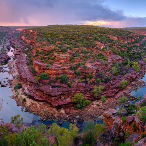 Z Bend Lookout Kalbarri National Park